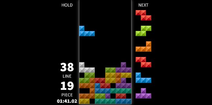 image of tetris game