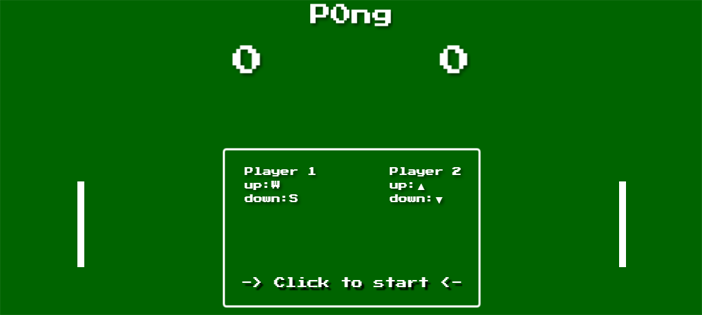 Classic Pong Game in TypeScript