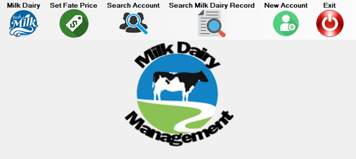 Milk Dairy Management System in VBNET