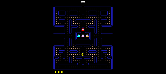 Pacman Game in TypeScript