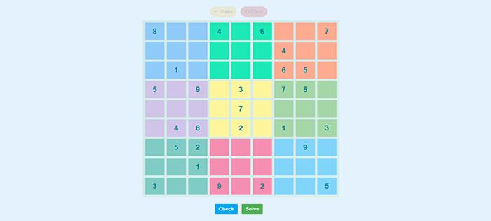 ReactJs Sudoku Game