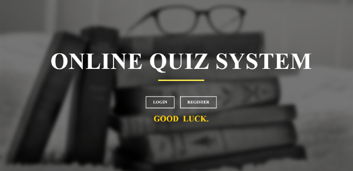 image of online quiz system