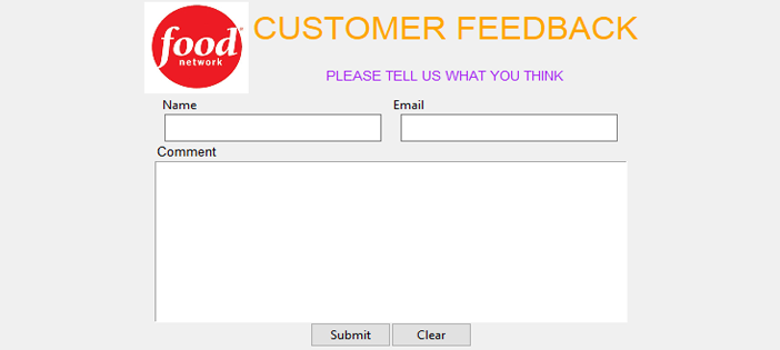 Simple Customer Feedback System in Python