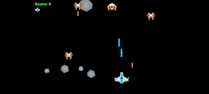 Space Shooter Game in TypeScript