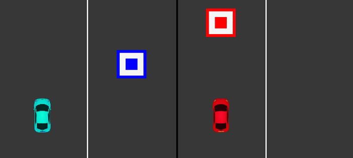 Two Cars Game In JavaScript