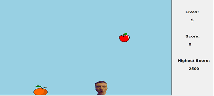catch the fruit in python