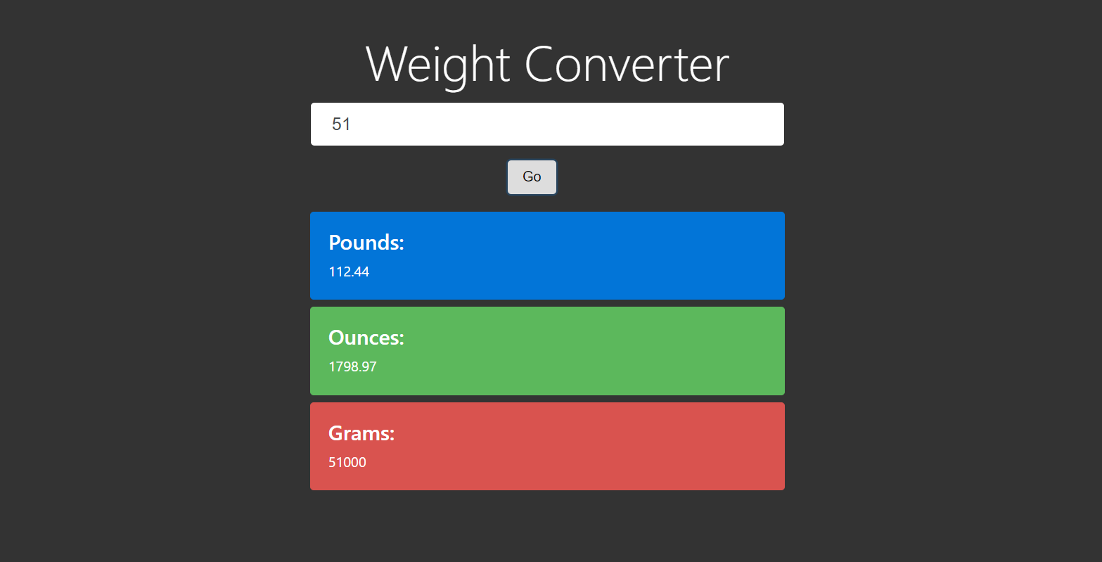 image of weight converter
