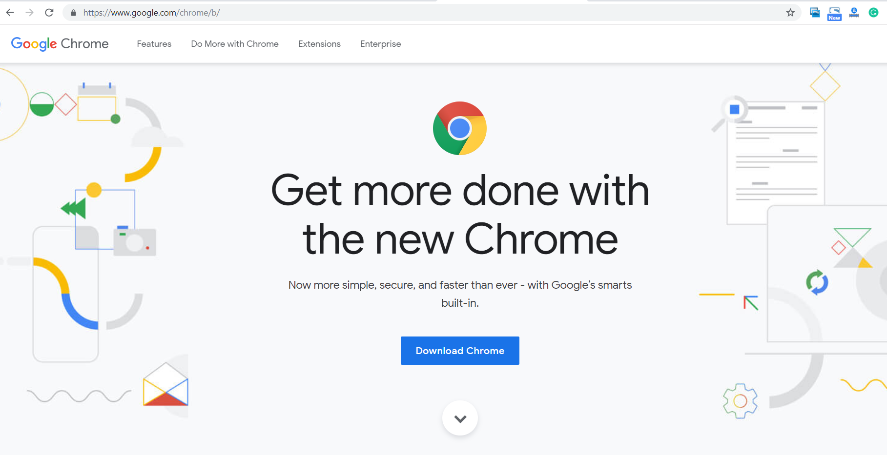 image for downloading chrome