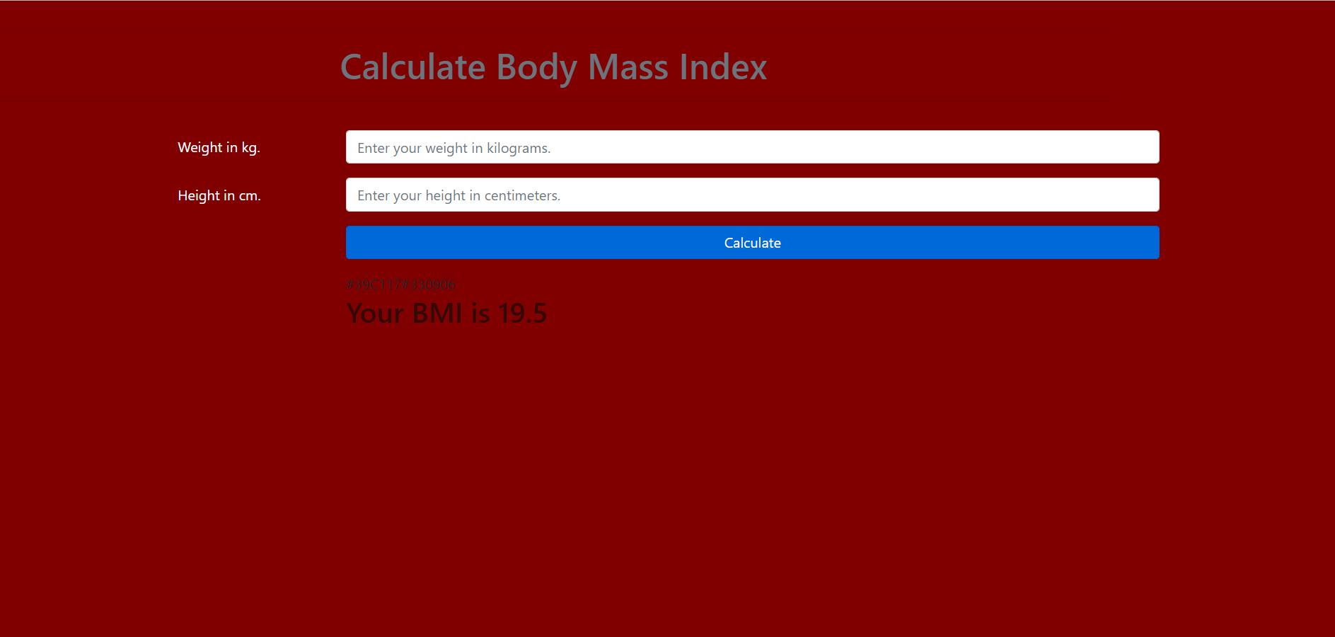 image of bmi calculator
