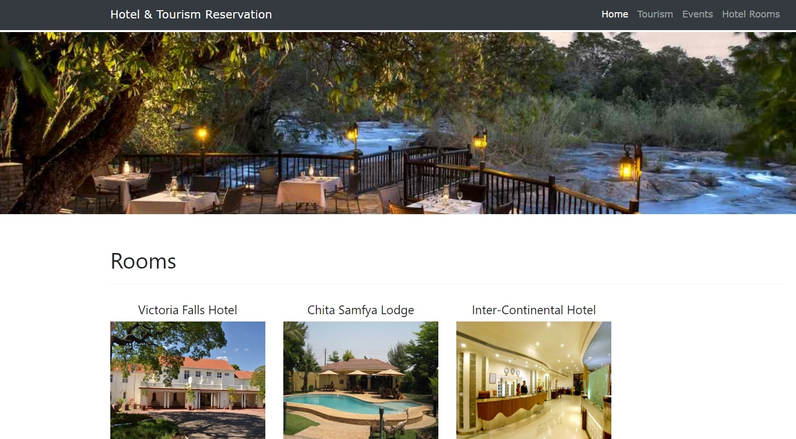 image of hotel and tourism reservation