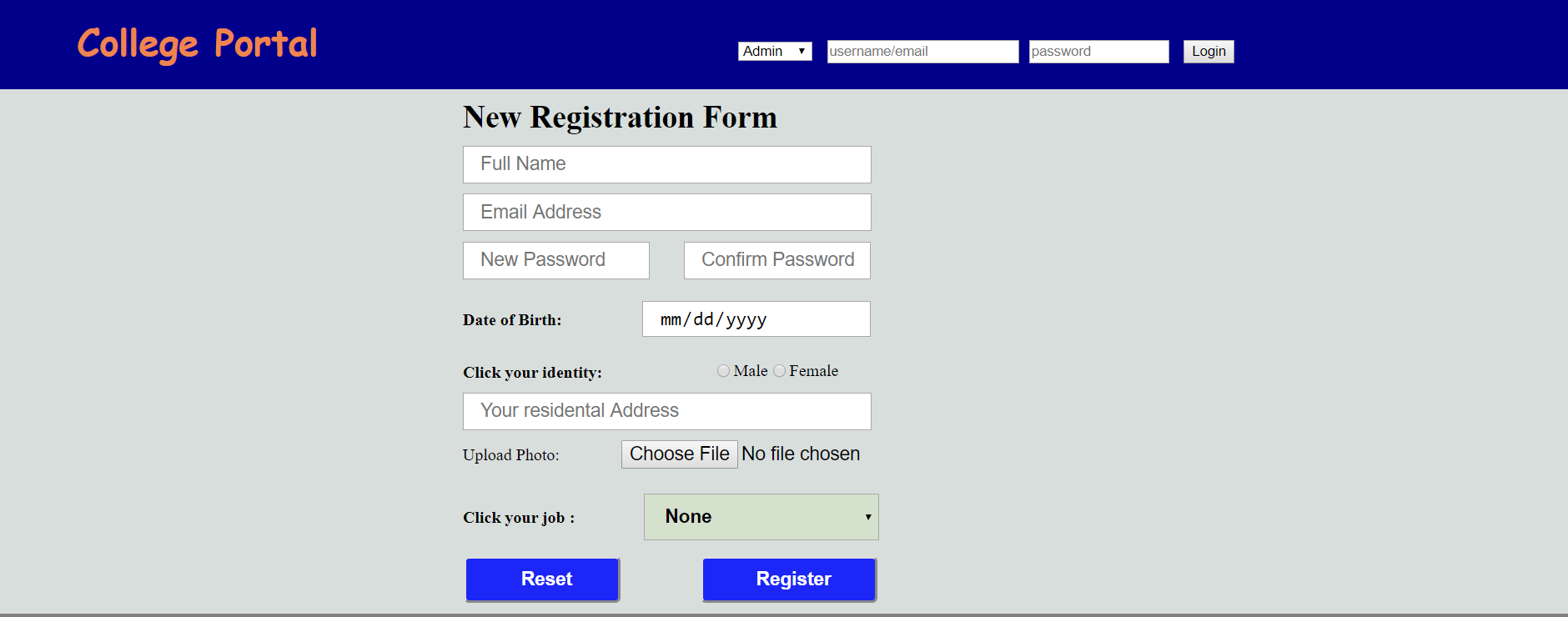 image of Enrollment System