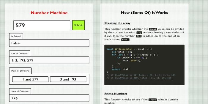 image of Number Machine