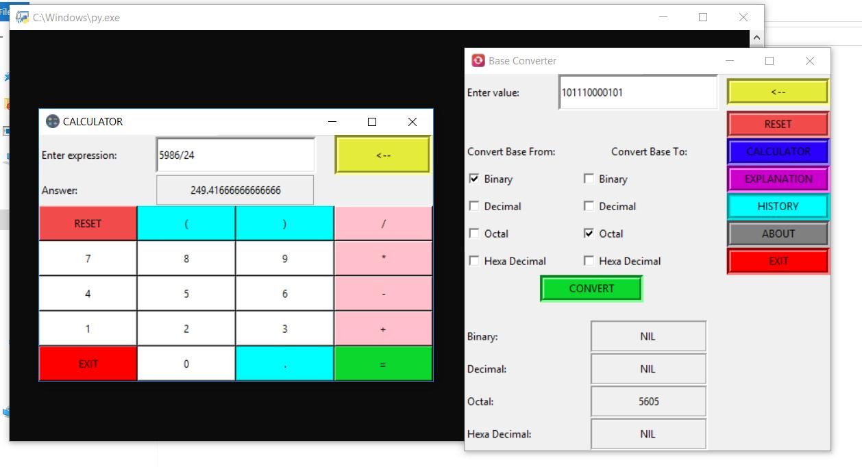 image of Base Converter App