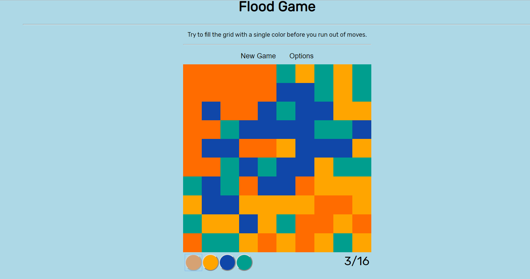 image of Flood Game
