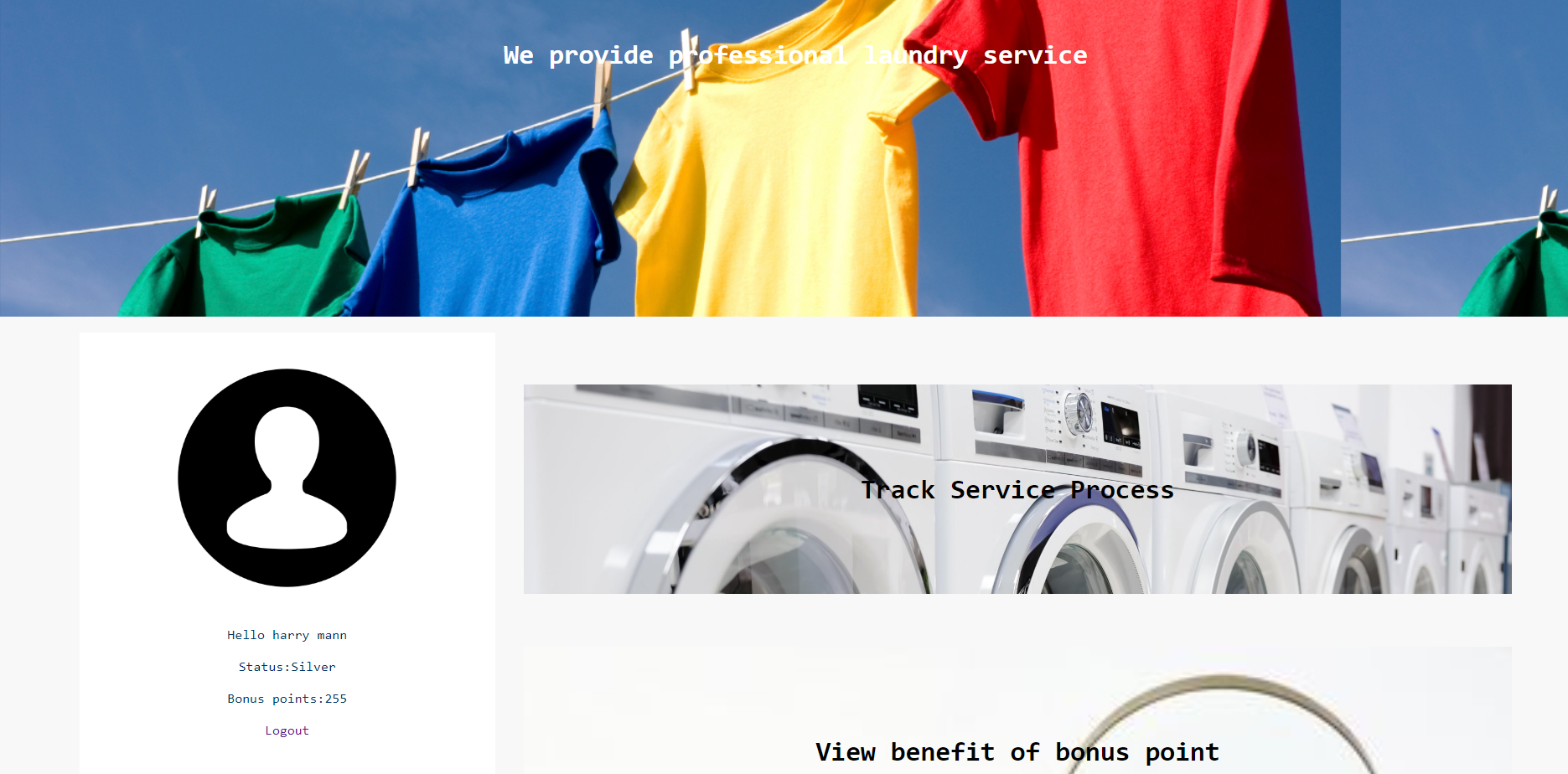 image of Simple Laundry System