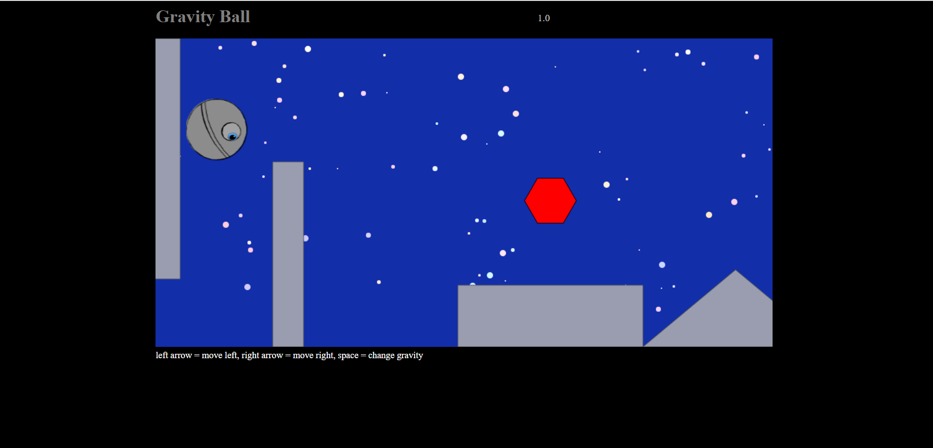 image of Gravity Ball Game
