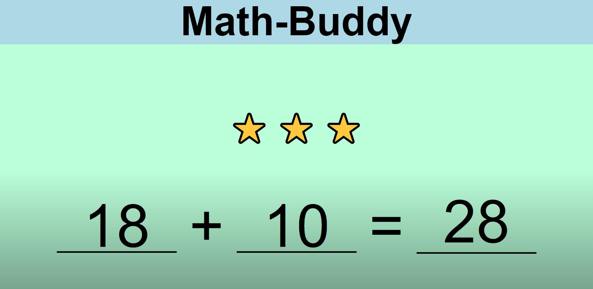 image of math app