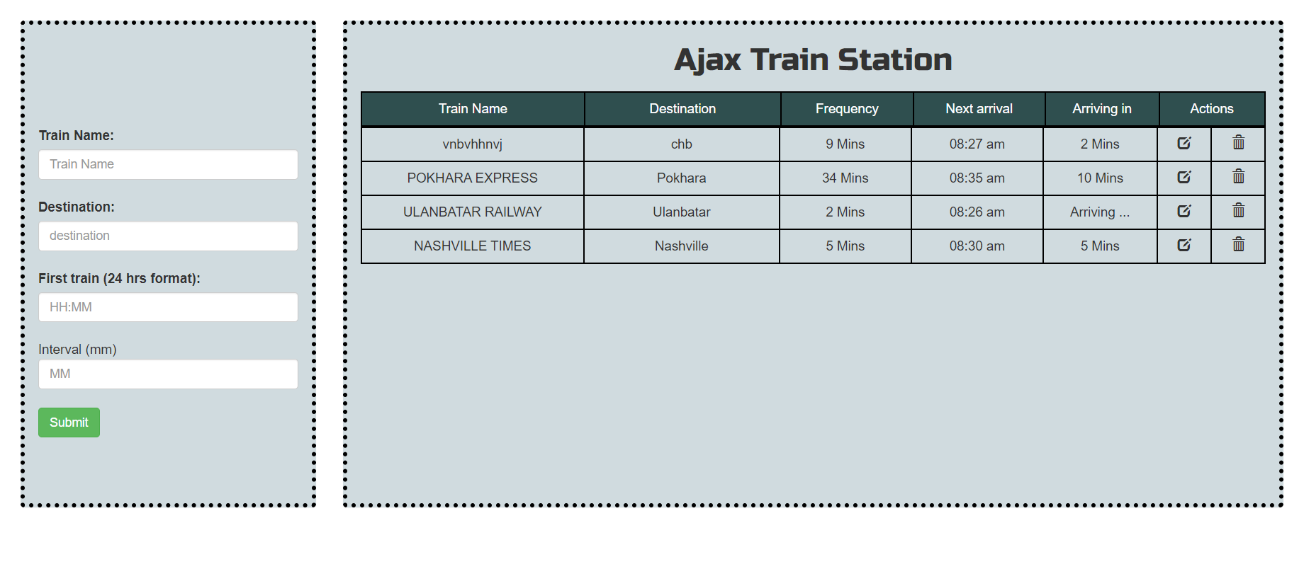 image of train schedule manager