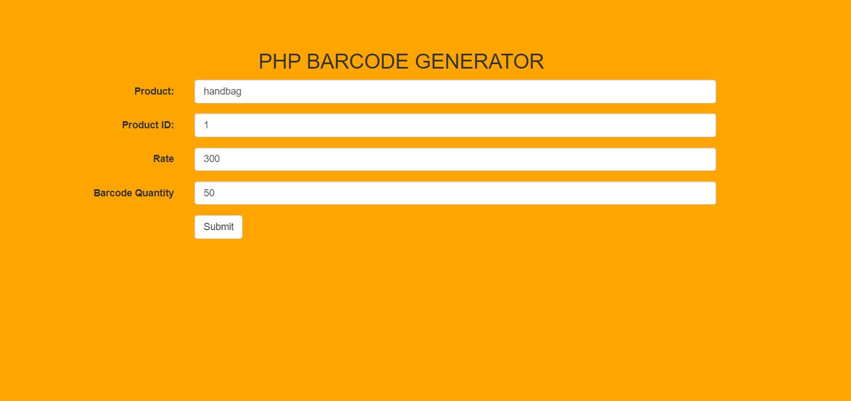 image of barcode generator
