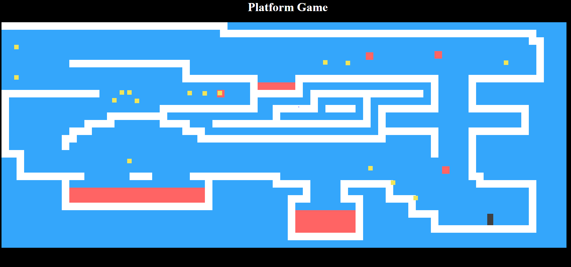 image of platform game