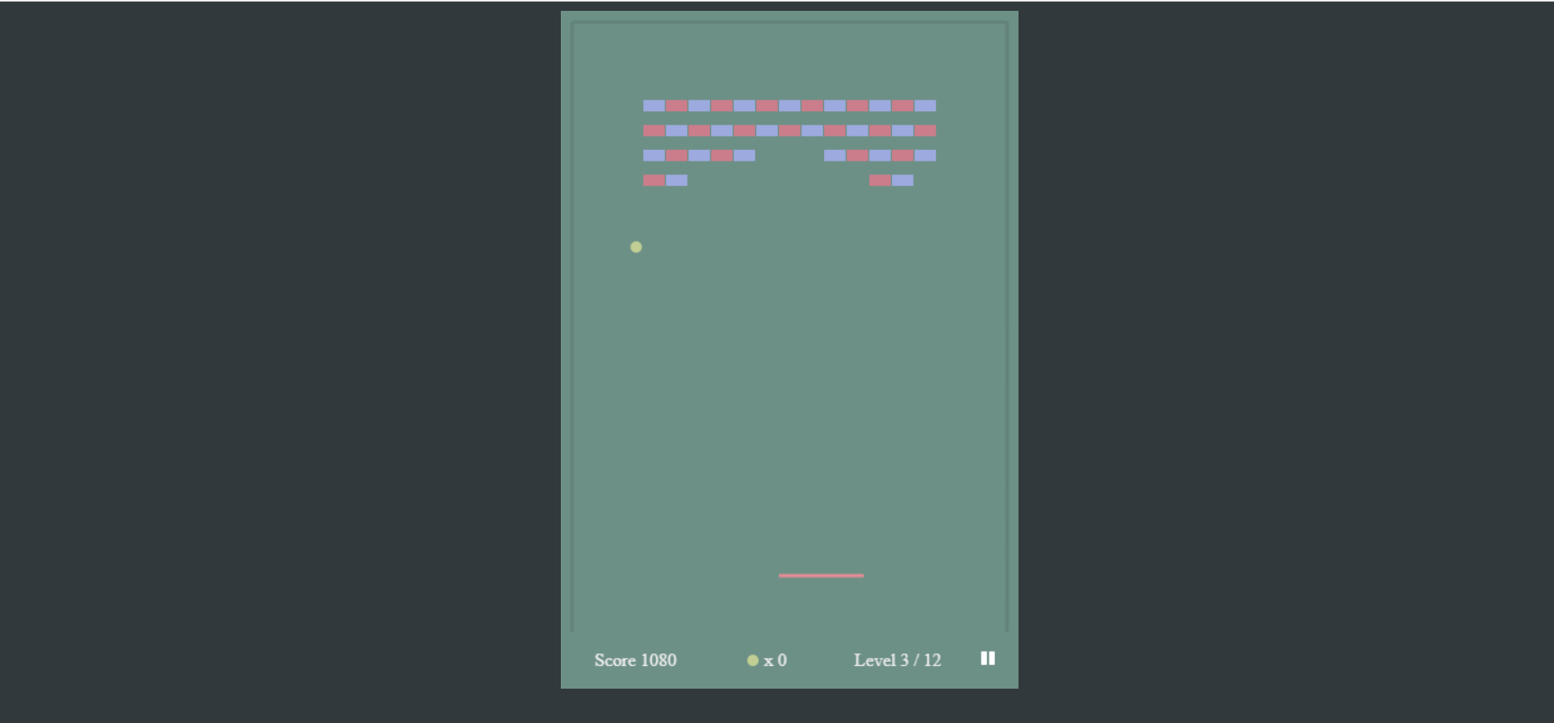 image of Arkanoid Game