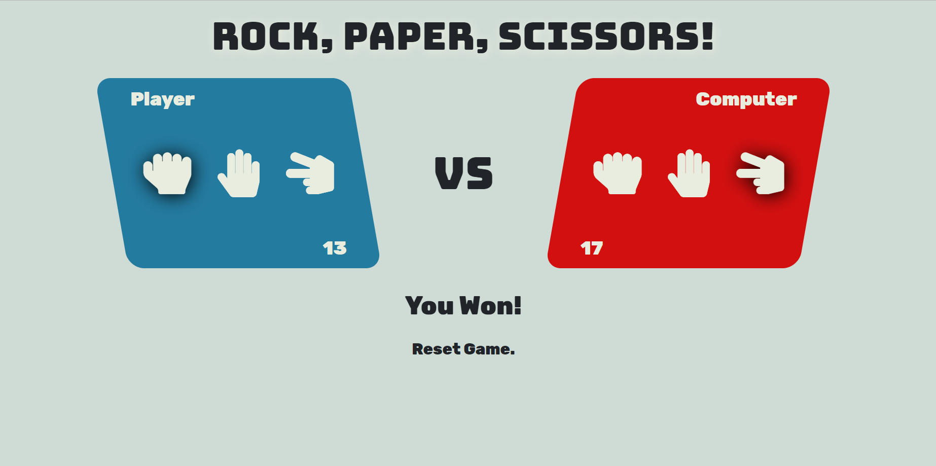 image of Rock Paper Scissor