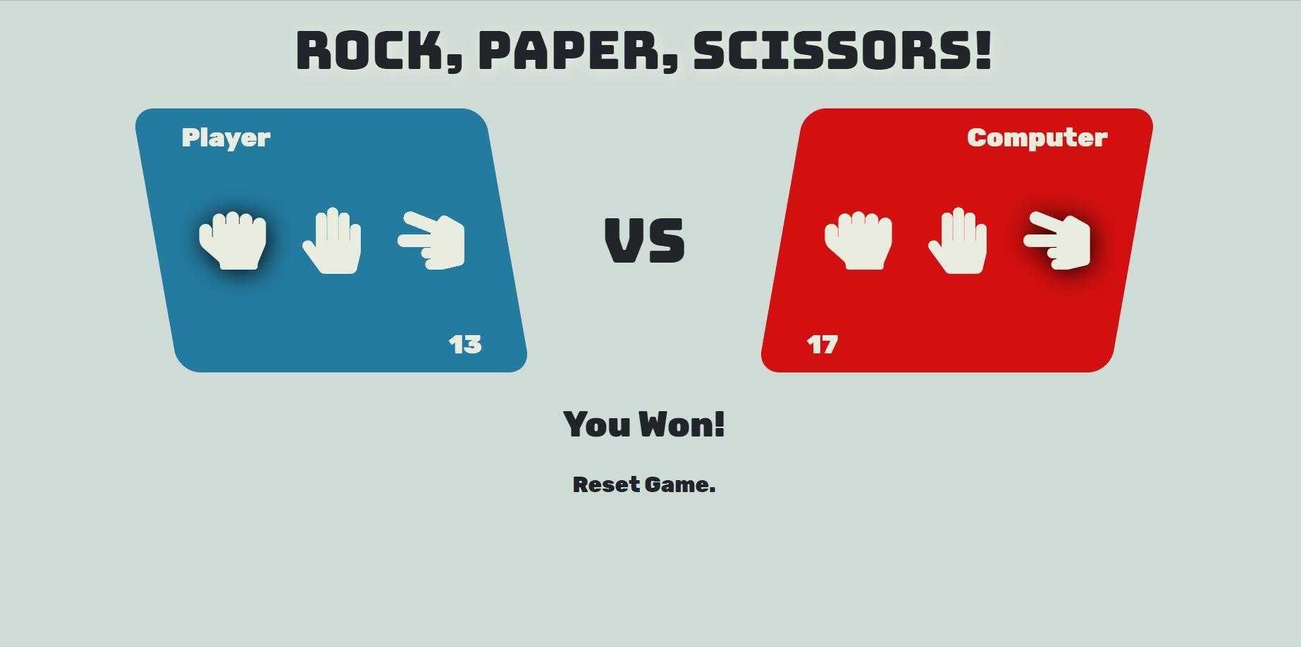 image of Rock Paper Scissor