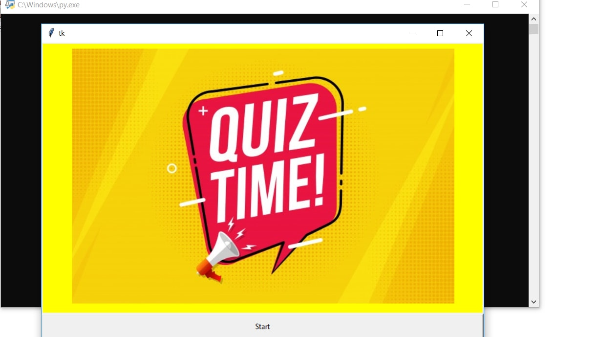 image of simple quiz app