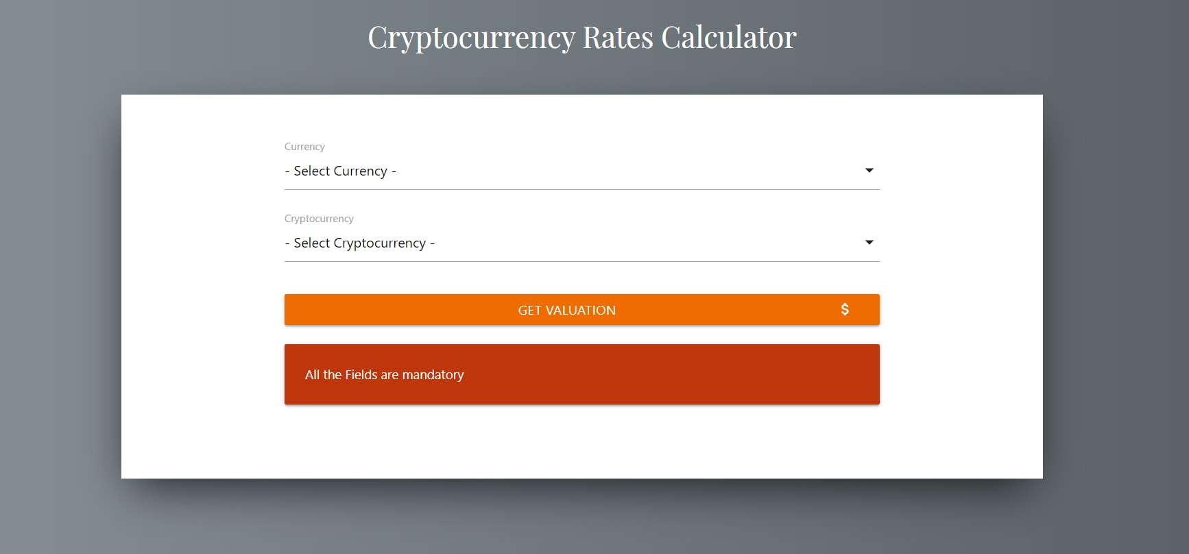 image of crypto currency converter