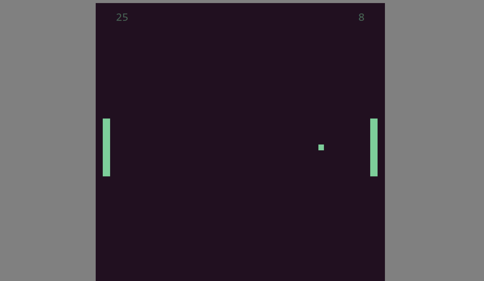 image of pong game