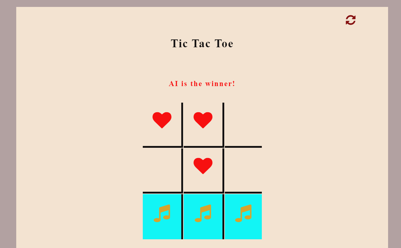 Simple TicTacToe In JavaScript With Source Code