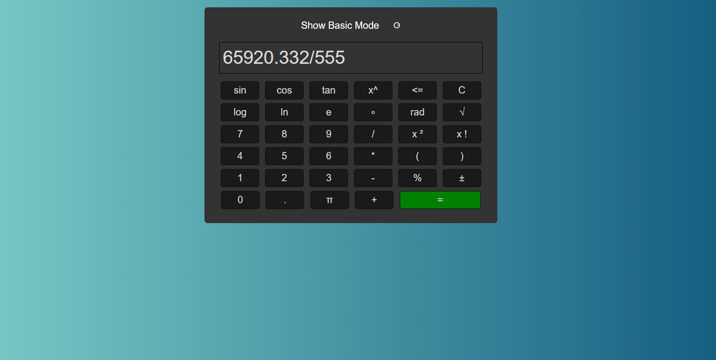 CALCULATRICE SCIENTIFIQUE EN JAVASCRIPT AVEC CODE SOURCE