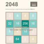 Simple 2048 Game In JavaScript With Source Code