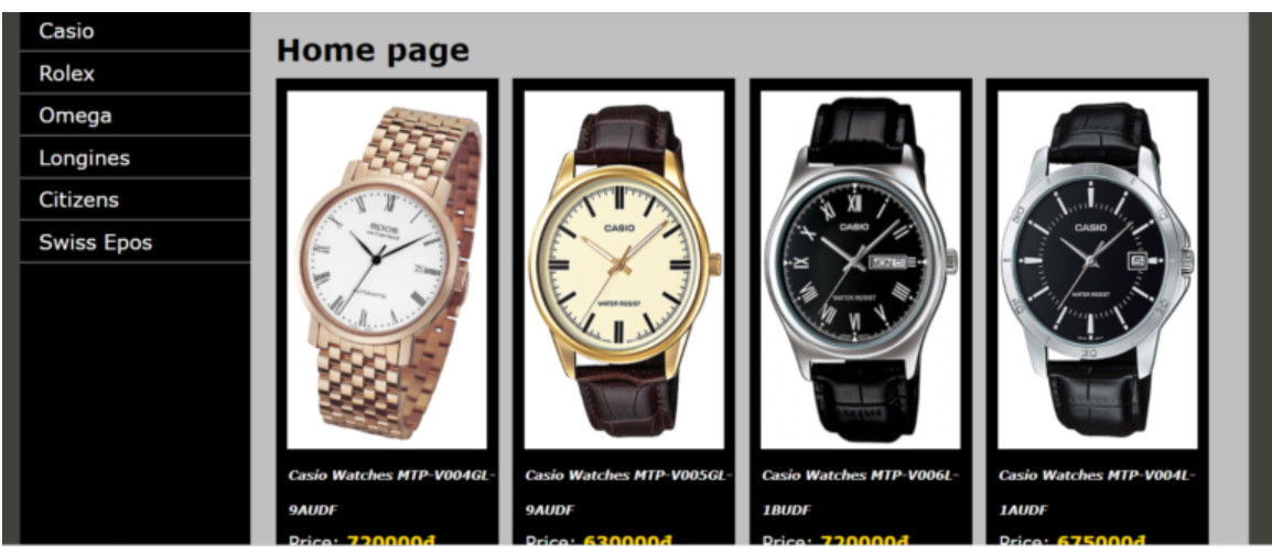 Online Watches