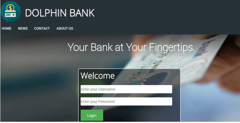 Online Bank in php
