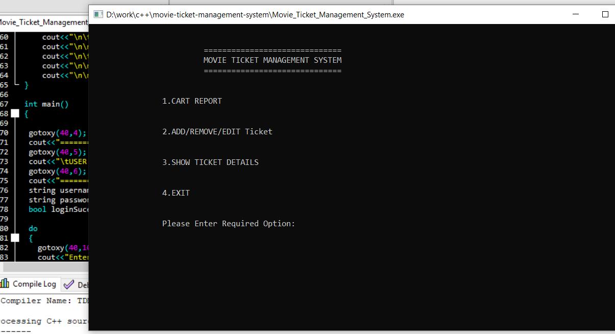 movie ticket system