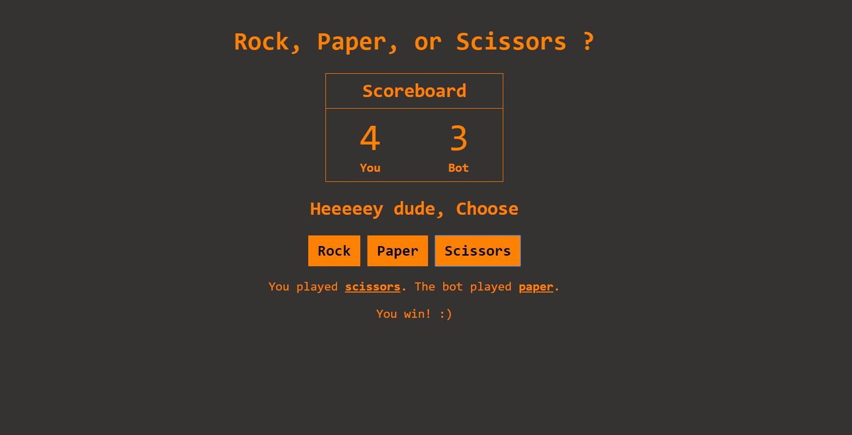 RockPaperScissor