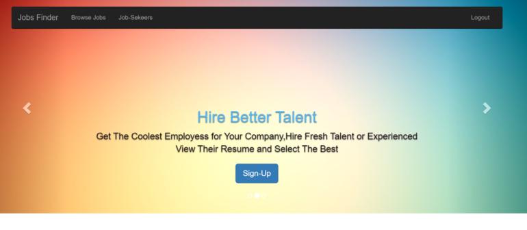 Jobs Finder