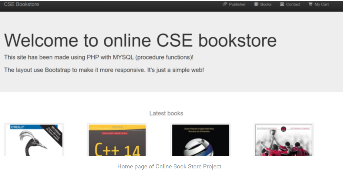 Online Book Store Project