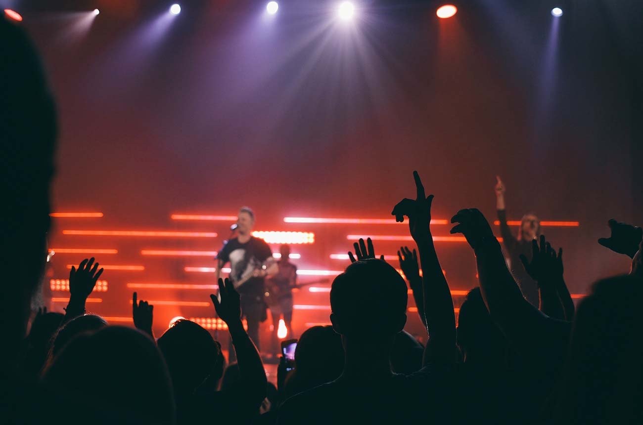 Concert ticket ordering system in php
