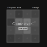 Simple 2048 In JavaScript With Source Code