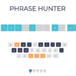 Phrase Hunter In JavaScript With Source Code