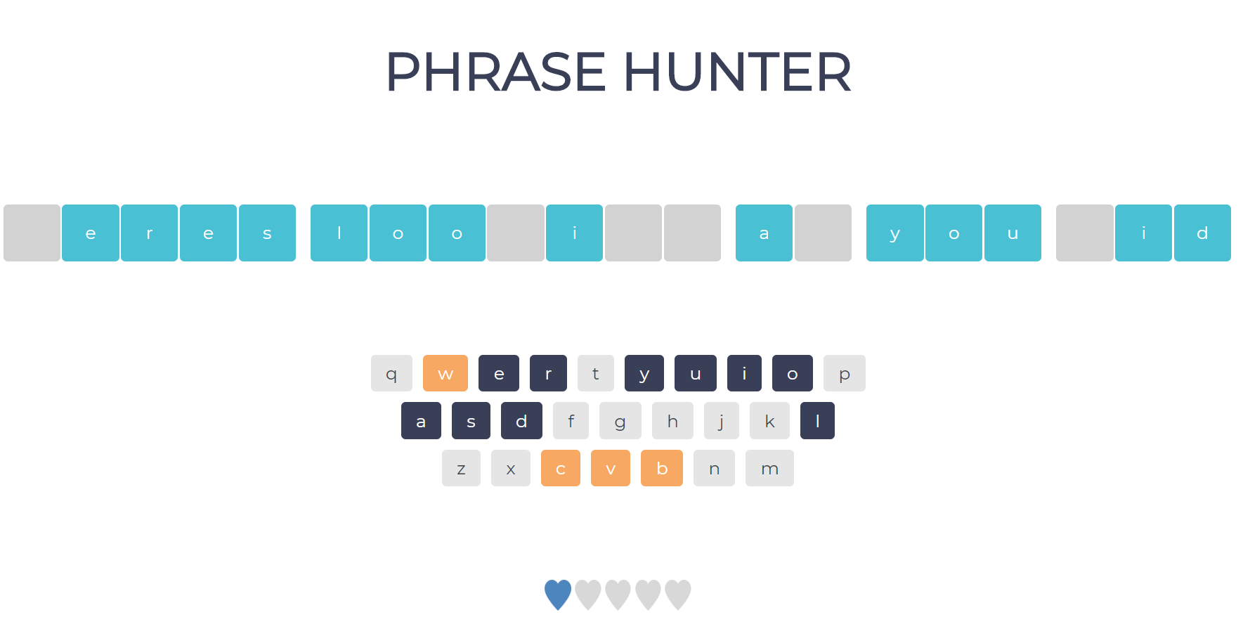 phrase hunter