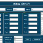 Bill Management System In Python With Source Code
