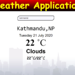 Weather Application In JavaScript with Source Code