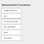 Measurement conversion In PHP With Source Code