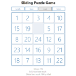 Sliding Puzzle In JavaScript With Source Code