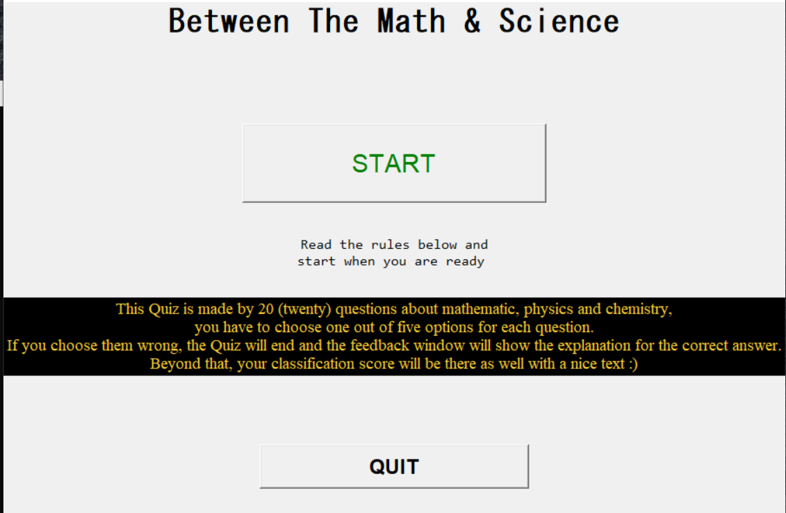 math science quiz