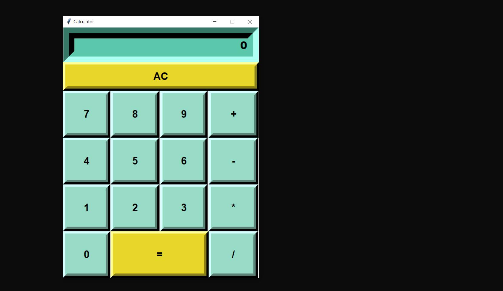python calculator