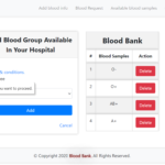 Blood Bank In PHP With Source code